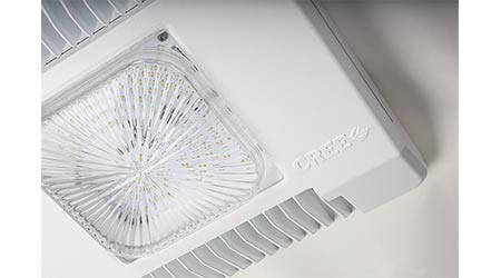 Canopy Luminaire Delivers Lower Operating Costs, Slim Design: Cree Inc.