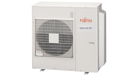 Multi-Zone Split HVAC System Connects 2-5 Indoor Units to 1 Outdoor Unit: Fujitsu General America Inc.