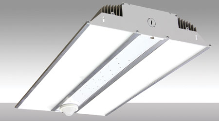 Highbay LED Luminaires Designed for Narrow, Wide Lens Distribution: MaxLite
