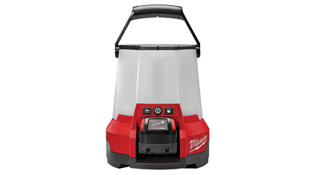 Cordless High-Output Area Light Launched: Milwaukee Tool