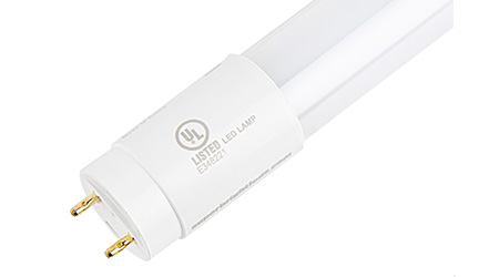 LED T8 Tube Lasts Longer than Comparable Fluorescent Tube: