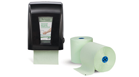 Antibacterial Paper Towel Reduces Spreading of Germs: Cascades Tissue Group