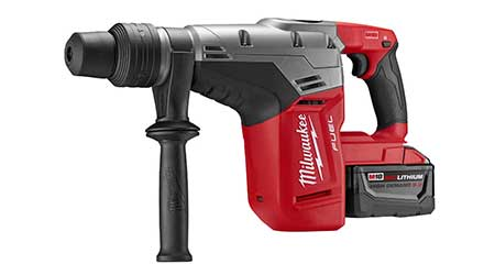 Cordless Rotary Hammer Responds to Heavy-Duty Applications: Milwaukee Tool