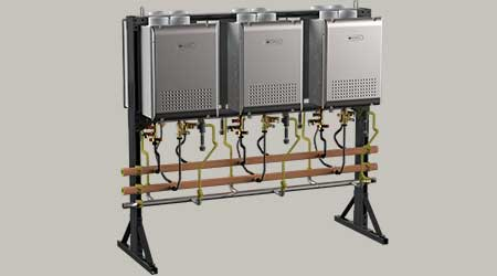 Improved Flexibility, Efficiency Highlight Tankless Water Heater System: Noritz America