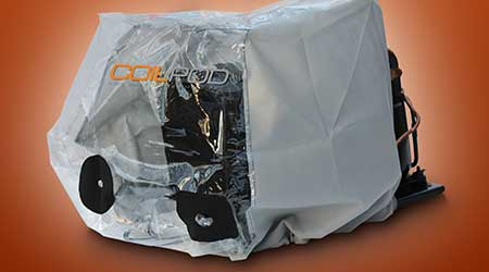 Dust Containment Bag Provides Environmentally Friendly Cleaning Solution: CoilPod LLC