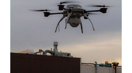 Unmanned Aerial Vehicle Provides Roof Inspection Opportunities: Tremco