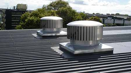 Hybrid Commercial Rooftop Ventilator: Edmonds USA
