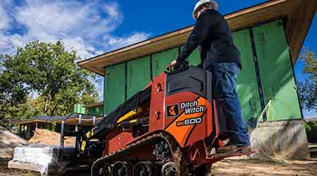 Mini Skid Steer Delivers Efficiency: Ditch Witch