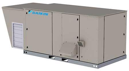 Cooling rooftop platform: Daikin