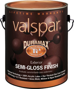 Facilities Management Paints Coatings Semi Gloss Paint Valspar Building Components And