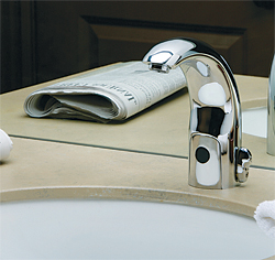 Sensor-Operated Faucets: The Chicago Faucet Co.