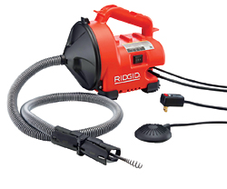 Drain-Cleaning Machine: RIDGID