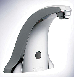 Electronic Lavatory Faucet: The Chicago Faucet Co.