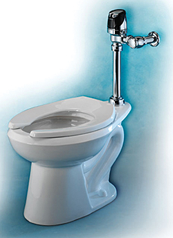 Dual-Flush Toilet Bowls: Sloan Valve Co.