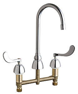 Under-Mount Faucets: The Chicago Faucet Co.