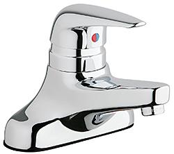 Lavatory Faucet: The Chicago Faucet Co.