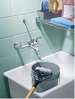Service-Sink Faucet: Moen Inc.