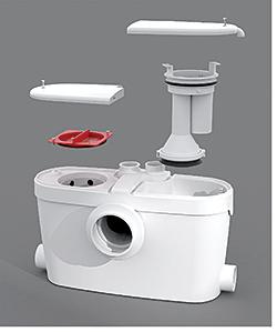 Upflushing Plumbing System: SFA Saniflo U.S.A.