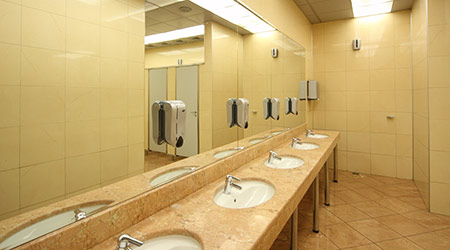 Restroom Updates Must Address ADA, OSHA, Water Requirements