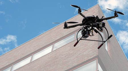 Commercial Drones Give Managers Eyes in the Sky