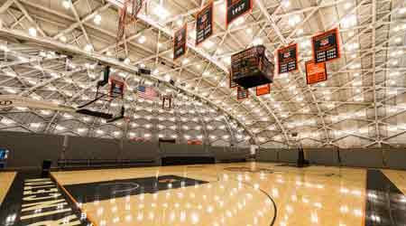 SIDEBAR: LED Upgrade at Princeton Gym Light-Years in the Making