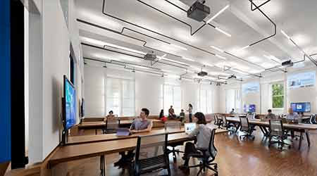 Media Research Center Chooses LEDs For Flexibility, Simple Maintenance