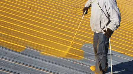 Properly Maintaining a Roof After Coating Application
