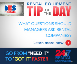 NES Rentals TIP of the DAY