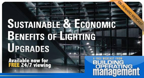 Sustainable And Economic Benefits of Lighting Upgrades