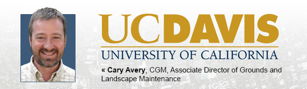 Cary Avery, CGM, Associate Director of Grounds and Landscape Maintenance