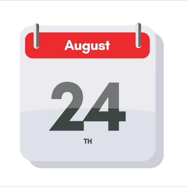 Aug 24