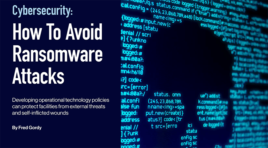 Cybersecurity: How To Avoid Ransomware Attacks