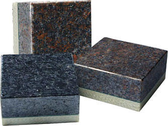 Reinforced Granite-Cladding System: Hardwire LLC