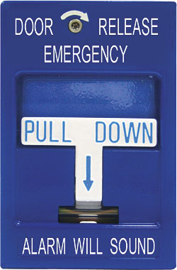 Pull Station: Security Door Controls