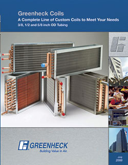 Cooling and Heating Coils: Greenheck