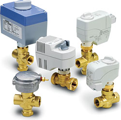 Valves and Valve Actuators: Siemens Building Technologies Inc.