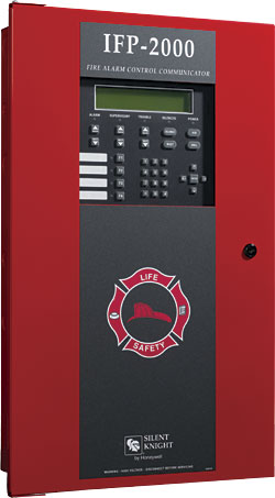 Fire Alarm Control Panel: Silent Knight by Honeywell