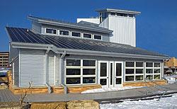 Photovoltaic Metal Roof: Petersen Aluminum Corp.