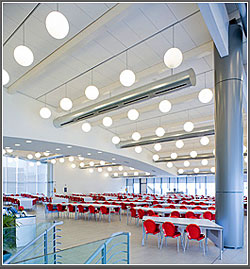 Techstyle E Ceiling Panels: Hunter Douglas Contract Window Coverings
