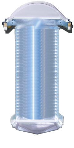 Daylighting Fixture: Sunoptics Prismatic Skylights