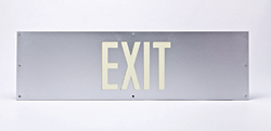 Photoluminescent Exit Sign: Brady Corp.