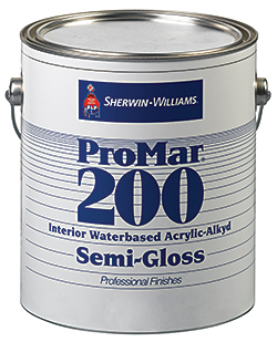 ProMar 200 Waterbased Acrylic-Alkyd: Sherwin-Williams