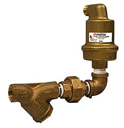 Sprinkler System Air Vent: Potter Electric Signal Co. LLC