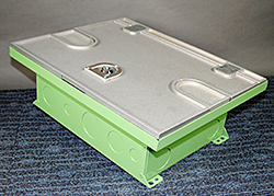 Floor Box: Wiremold/Legrand