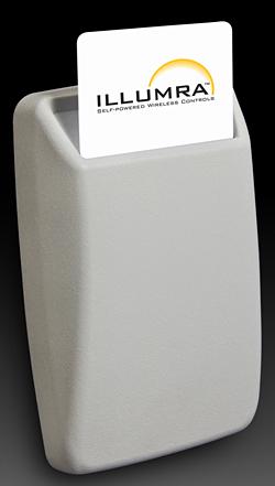 Key Card Reader: ILLUMRA Self-powered Wireless Controls