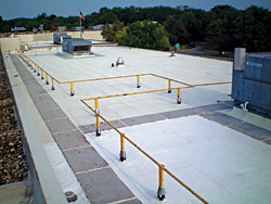 White Roof Coating: The Garland Co. Inc.