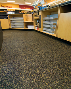 Resilient Flooring: ECOsurfaces Commercial Flooring