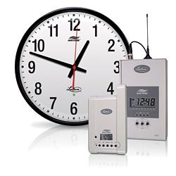 Wireless Wall Clock System: Lathem Time