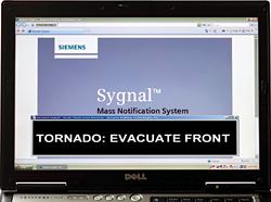 Mass Notification System: Siemens Building Technologies Inc.