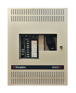 Voice Control Panel: SimplexGrinnell